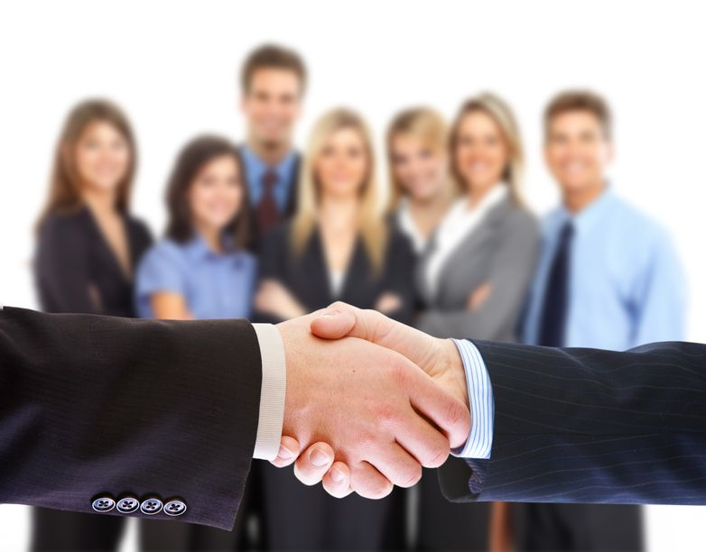 12378675 - handshake. business people meeting.