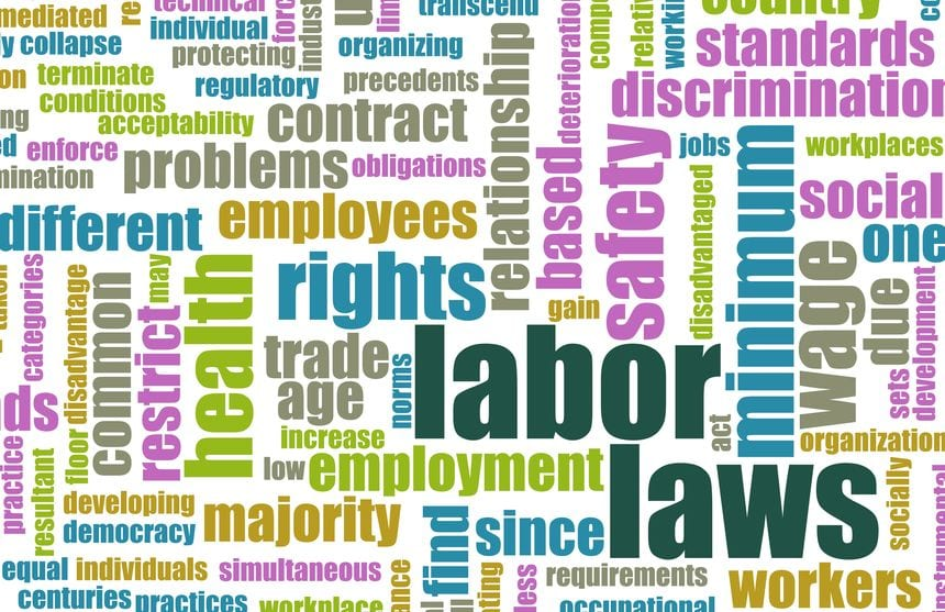 19605131 - labor laws in the workplace as concept