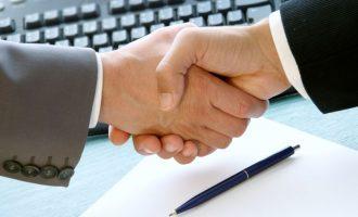 11095069 - business handshake